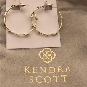 Kendra Scott Gold Hoops